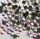 SS30  6MM  Iridescent A/B Crystal Iron-on HotFix Iron FlatBack Rhinestones