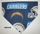 San Diego Chargers NFL Football Over Collar Slide On Pet Dog Cat Bandana Scarf $6.5 USD