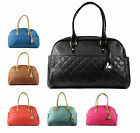 LARGE QUILTED OVERSIZED TRAVEL HOLIDAY CABIN BAG WEEKEND OVERNIGHT HANDBAG