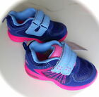 Carter's Light-Up Gym Shoes Purple & Pink Size Toddler Easy Fastener Straps NIB