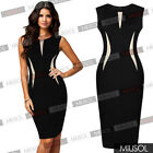Cool Beautiful Ladies Formal Party Pencil Dress Womens Business Dress Uk Sz 6-18