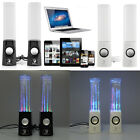 Water Dancing Music Light Portable Audio LED Speakers For iPhone iPad iPod Lapto