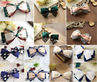 Women Girl Stylish Vintage Retro Bowknot Hairpin Clip Barrettes Hair Accessory