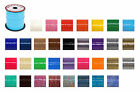 """Rexlace Plastic Lacing Pepperell 3/32"""" Wide 100 Yards Spool Multi Color Choices"""