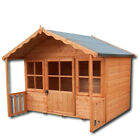 "Shire - Pixie Playhouse (6' x 4' +1'6"") Wendy Play House Childrens Kids Den"