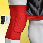 Honeycomb Foam Pad Crashproof Antislip Basketball Football Protective Leg Knee