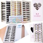 10 Pairs Fashion Girl cosmetics Handmade Natural  Long False Eye Lashes DBCA