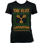 9063 FLUX CAPACITOR Ladies T-SHIRT inspired by BACK TO THE FUTURE hill valley