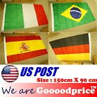 BRAZIL FIFA WORLD CUP 2014 Flag Big Size 90cmX150cm Italy Spain #FAST SHIPPING#