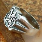 STERLING SILVER LION SIGNET RING SOLID .925 /NEW SIZE 5-12 JEWELRY