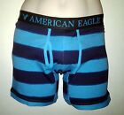 NWT AMERICAN EAGLE OUTFITTERS MENS BRUSHSTROKE STRIPE ATHLETIC TRUNK  BOXERS