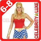 New Sexy Ladies Wonder Woman Super Hero Fancy Dress Up Costume Party Superhero