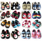 Soft Sole Leather Baby Infant Boys Girls Shoes From 0 to 24 months