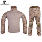 Emerson Gen2 Tactical Uniform Shirt & Pants Airsoft Hunting Army BDU AOR1 EM6914