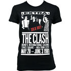 6047 1981 BONDS CASINO THE CLASH Ladies T-SHIRT Joe Strummer punk rock indie