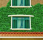 "Artificial Weatherproof Garden Screening Hedging ""IVY"" - Choice of Colour & Size"
