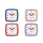 Champion Time Teaching  Wall Clock Analogue with Silent Seconds - For Children