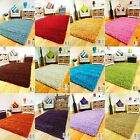 MODERN SMALL X LARGE THICK SOFT LUXURIOUS COLORFUL SHAGGY 5CM PILE AREA RUG UK