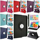 """360 Rotating Luxury Leather Case Smart Cover For Samsung Galaxy Tab 4 10.1"""" T530"""