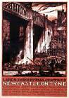 Newcastle on Tyne Industrial Centres, Northumberland. LNER Vintage Travel Poster