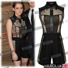 Womens Ladies Summer Holidays Lace Casual Jumpsuits Playsuits Dresses Size 81024