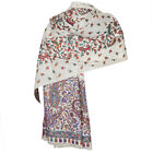 Indian Gypsies Jamavar Border with Buty Embroidered Shawl for Women