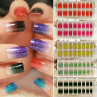 Foils Artificial Nail Stickers Decal Design Wraps DIY Decoration Nail Art