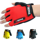 Bicycle Cycling Bike Motorcycle Silicone Gel Half Finger Fingerless Gloves M-XL