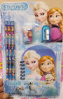Frozen Stationery Pencil Eraser Notebook Sharpener 6in1 Set Kids Christmas Gifts