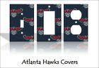 Atlanta Hawks Light Switch Covers Basketball NBA Home Decor Outlet on eBay