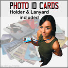 Photo ID Cards | Custom made | Includes Lanyard and Card Holder