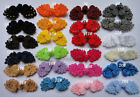 10pairs Chinese Frog Knot Button bead closure sewing handmade 6-7cm 25color pick