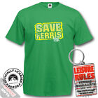 Ferris Bueller T-Shirt and Keyring Giftset- Save Ferris Retro Movie Film Tees