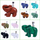 Charms  Natural Carved Litte Bear Pendant Decoration CH03