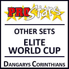 Corinthian Prostars Other Sets: ELITE WORLD CUP Blisters