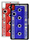 Sony Xperia Z2 case Cosworth rocker cover design RED or BLUE