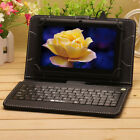 "iRULU 7"" 8GB or 16GB  Android 4.4 Tablet PC Quad Core WIFI 1.5GHz w/ Keyboard"