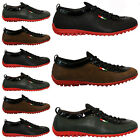 MENS LEATHER LOOK DESIGNER SHOES ITALIAN FASHION CASUAL MOCCASIN TRAINERS BOOTS