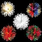 Christmas Foil Ceiling Decoration Hanging Large Ball -  5 Colours