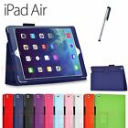 Classic Flip Stand Leather Case Cover For New iPad 5 iPad Air
