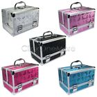 MON - Large Aluminum Beauty Box Cosmetic Make Up Jewellery Saloon Case
