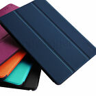 Slim Lightweight Magnetic Shell Case w/ Hard Back Stand Cover for Apple iPad