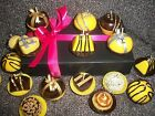 A box of novelty mini luxury chocolate scented cupcake candles,gift,mum,aunt,si