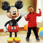 "Jumbo Birthday Foil Balloon Mickey Mouse Airwalker 52"" Decoration Party Supplies"