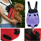 Pet Dog Carrier Backpack Front Net Nylon Travel Bag Four sizes Six Colors In US