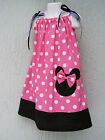 Minnie Mouse Girls Pillowcase Dress Size 1T,2T,3T Mult-color Cute 1-3Yr LOVEFEME