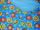 handmade 100% cotton front & flannel back baby/toddler blankets neutral group 4