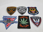 DIY US Police Patches San Francisco Massachusetts Missouri Embroidered Patriotic