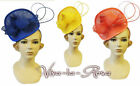 New Rosa Rosa Vtg 1940s 50s Glamour Retro Pin-up Fascinator Hatina Wedding Hat