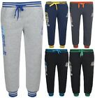 Boys Jogging Bottoms Sports Trousers Joggers Union Jack Brooklyn #46 Bnwt
